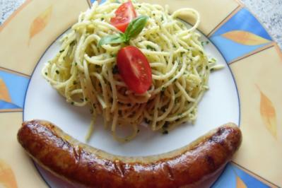 ❤ Spaghetti - Salat ❤ - Rezept