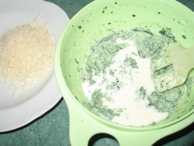 Pasta - Ravioli, selbst gemacht, mit Spinat-Ricotta-Parmesan-Füllung - Rezept - Bild Nr. 10