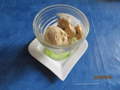 Eis:Tonkabohneneis - Rezept