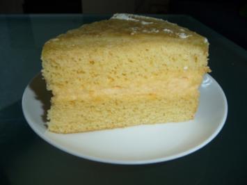 Zitronen-Rhabarber-Torte - Rezept