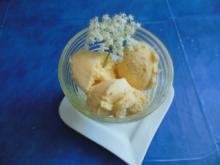 Eis: Holunderblüteneis - Rezept