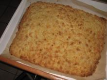 Susi´s Lieblings-Streusel-Kuchen vom Blech - Rezept