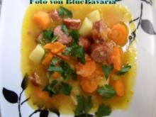 Eintöpfe: Kartoffel-Möhren-Eintopf mit Mettenden - Rezept