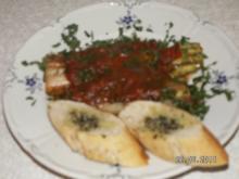 Lauch mit Tomatensauce - Rezept