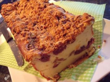 Amarettini-Kirsch-Käsekuchen - Rezept