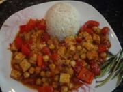 Jalfrezi-Curry mit Tofu und Gemüse - Rezept