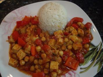 Rezept: Jalfrezi-Curry mit Tofu und Gemüse