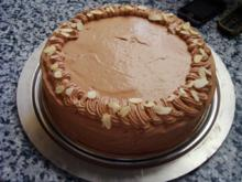 Apfel-Schokoladen-Torte - Rezept