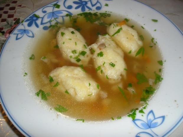 Grießnockerl (Suppeneinlage) - Rezept - Bild Nr. 4