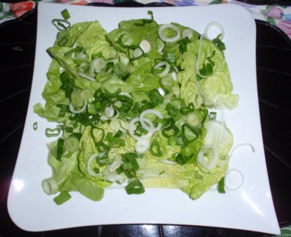 Bunter Frühlingssalat mit Eier und Käsewürfel - Rezept - Bild Nr. 6