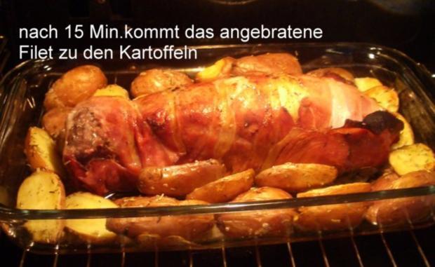 Gefülltes Schweinefilet im Speckmantel - Rezept - Bild Nr. 18