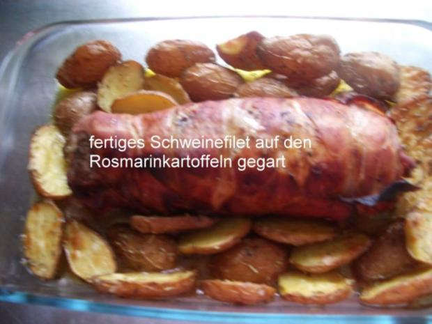 Gefülltes Schweinefilet im Speckmantel - Rezept - Bild Nr. 20