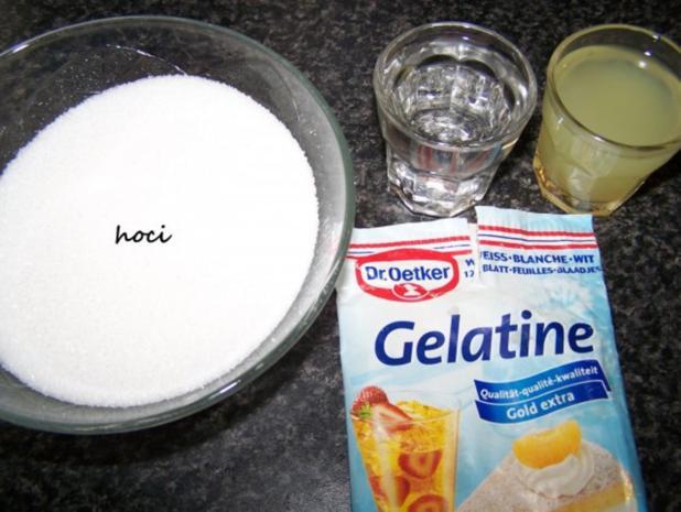 Zitronenglasur mit einem kleinen veränderten Eingriff.... - Rezept