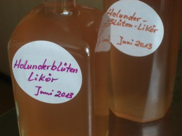 Holunderblütenlikör - Rezept - Bild Nr. 2