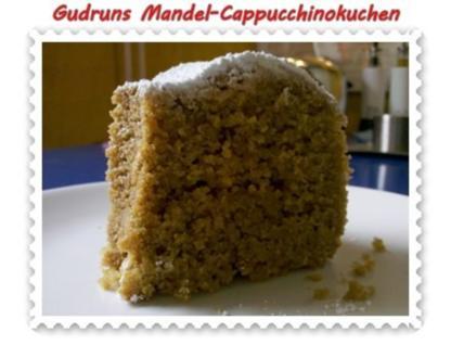 Kuchen: Mandel-Cappucchino-Kuchen - Rezept