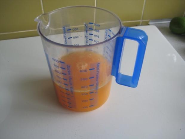 Orangen Campari Sorbet - Rezept - Bild Nr. 6