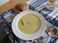 Grüne Spargelcremesuppe / Spargelsuppe - Rezept