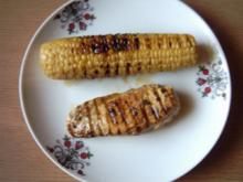 Hähnchenfilets gegrillt mit Mais - Rezept