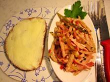 Wurschtsalat aus Resten ... - Rezept