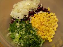 Rote Bete-Kidneybohnen-Maissalat - Rezept