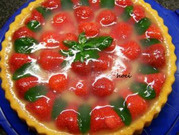 Erdbeer-Minz-Torte - Rezept