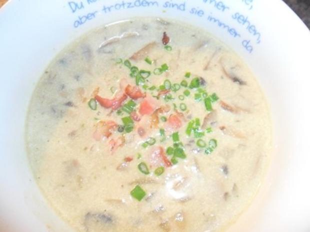 Champignon-Cremesuppe - Rezept - Bild Nr. 7