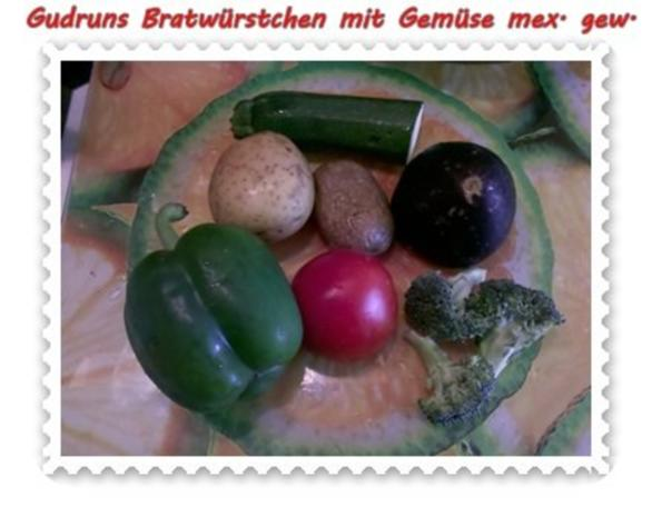 Fleisch: Bratwürstchen mit Gemüse - mexikanisch gewürzt - Rezept - Bild Nr. 2