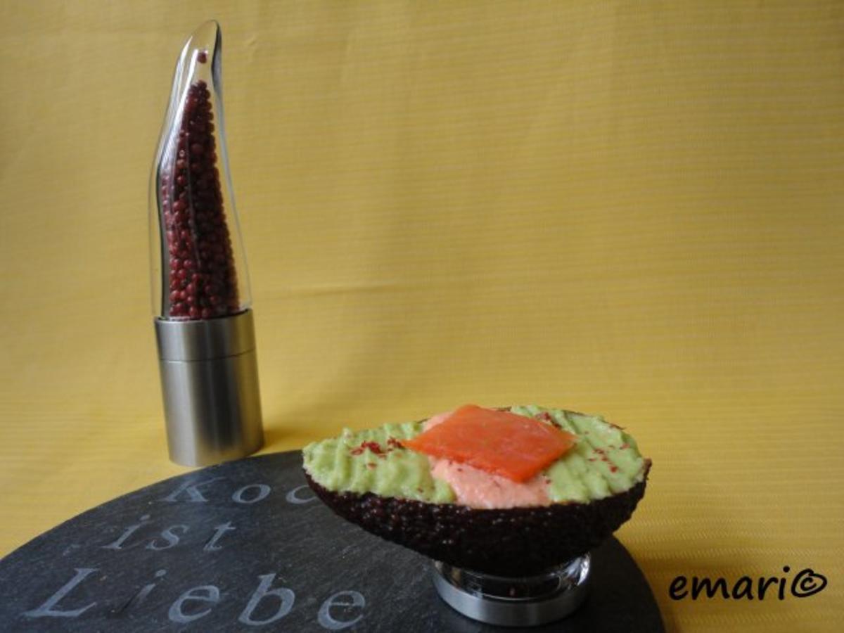 Bilder für Lachs-Avocado Creme Rezept