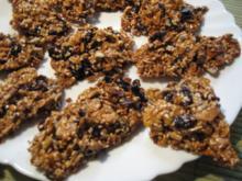 Müsli-Sesam-Krokant - Rezept