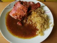Kasseler mit Sauerkraut - Rezept