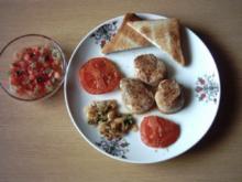 Schweinemedaillons mit Tomatensalsa - Rezept