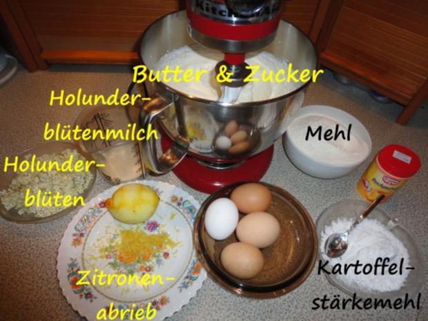 Holunderblüten Kuchen - Rezept - Bild Nr. 5