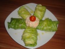 Salat-Röllchen - Rezept