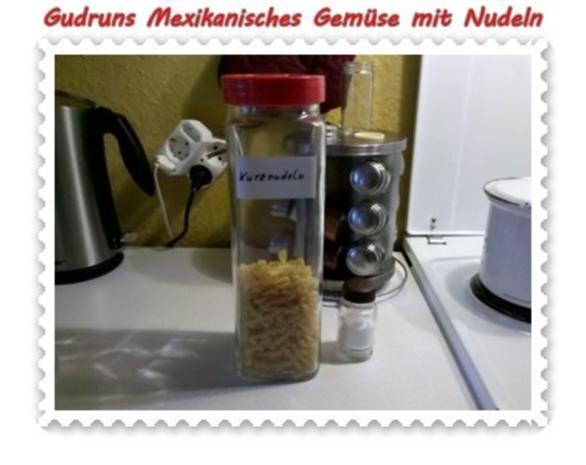 Vegetarisch: Mexikanisches Gemüse mit Nudeln - Rezept - Bild Nr. 3