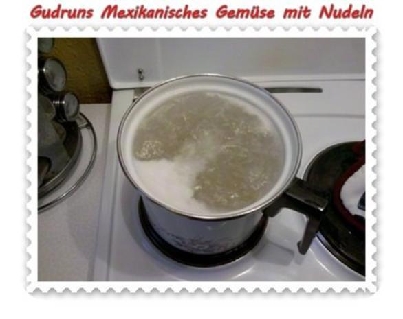 Vegetarisch: Mexikanisches Gemüse mit Nudeln - Rezept - Bild Nr. 4