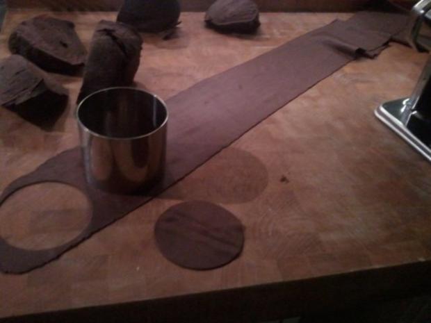 Kakao-Tortellini mit Marzipanfüllung - Rezept - Bild Nr. 4