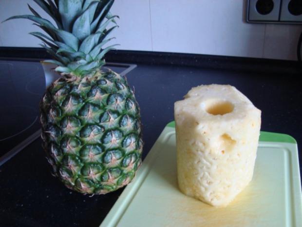 Es ist eine gute Ananasschale zur Gewichtsreduktion