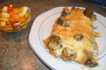 gratin -ohne sahne und eier..ich habe meine vegetarische woche..bemerkt?? resteküche - Rezept