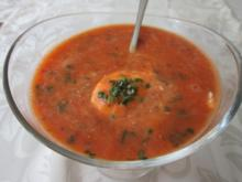 Rote-Linsen-Tomatensuppe - Rezept