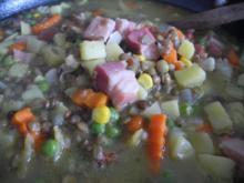 Suppen & Eintöpfe :  Bunte Linsensuppe ... - Rezept