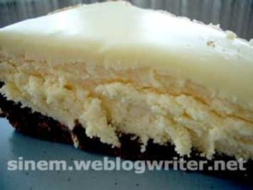 White Chocolate Cheesecake - Rezept