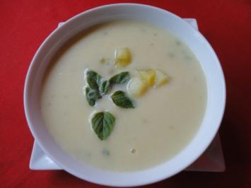 blitzschnelle Kartoffel Suppe - Rezept
