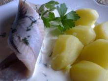 Matjes nach Hausfrauenart, ( leider wird heute vergessen wie lecker einfache Rezepte sind - Rezept