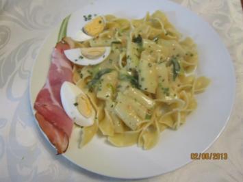 Spargel-Pasta - Rezept