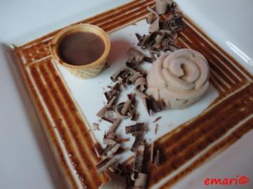 Eis: Nutella Sahne Eiscreme - Rezept