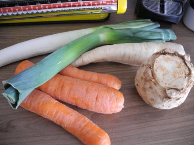 Gemüsebrühe selbstgemacht - Rezept - Bild Nr. 3