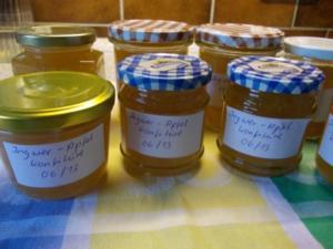 Ingwer-Apfel-Konfitüre - Rezept