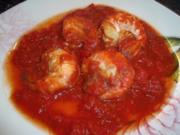 Garnelen in Tomatensauce - Rezept