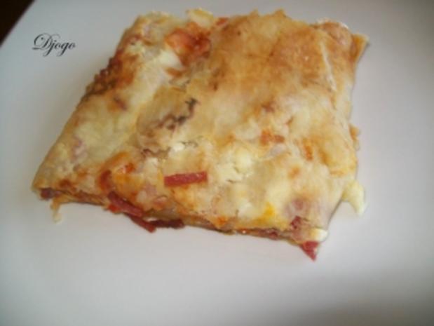 Pizza Strudel - Rezept