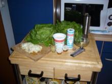 Kopfsalatcremesuppe - Rezept